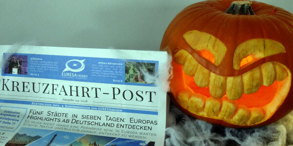 EURESAreisen beim Halloween Shopping